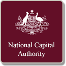 opens the National Capital Authority Map